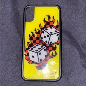 iPhone X wildflower case